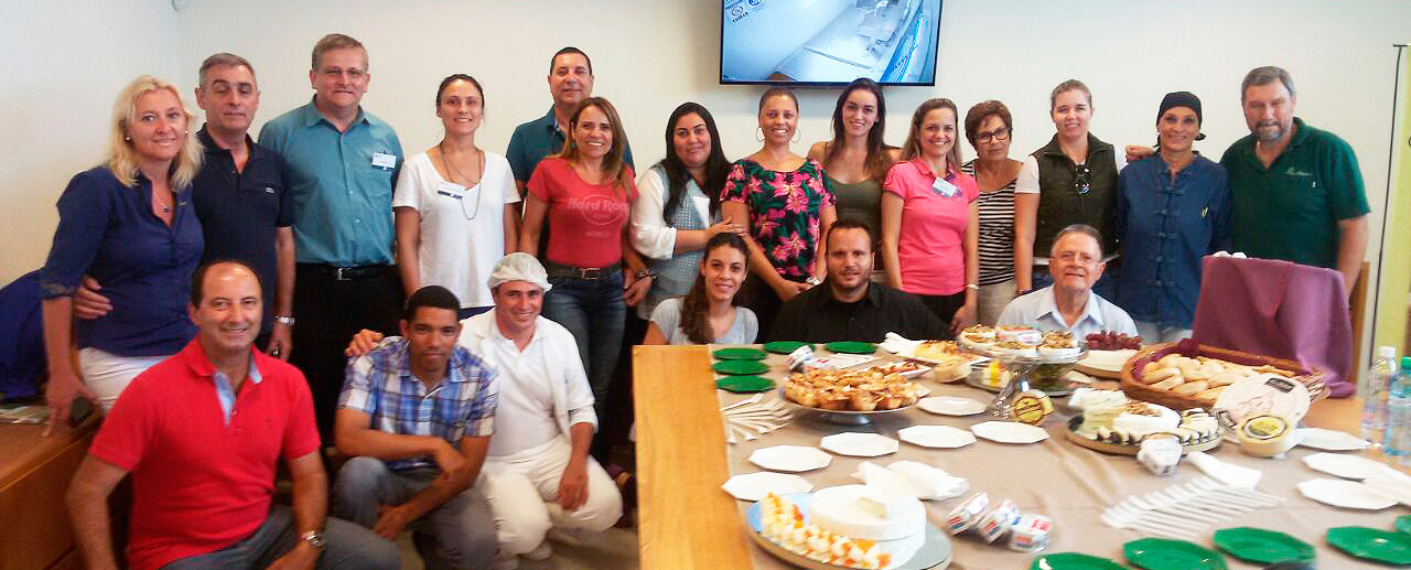 Teachers and students from Brazil visited our plant
